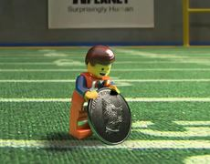 The Lego Movie TV SPOT Puppy Bowl Coin Toss 2014