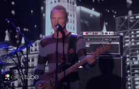 Ellen show - Sting Performs 'I Can't Stop Thinking About You'!