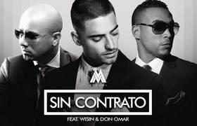 Maluma ft. Don Omar, Wisin - Sin Contrato (Remix) [Audio]