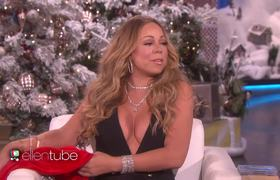 Ellen Show - Mariah Carey Brings the Holiday Glamour