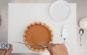 Trick to perfect pumpkin pie