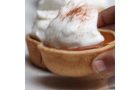 Pumpkin Pie Bites #Recipes #Thanksgiving