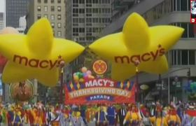 The Great Macys Parade to celebrate Thanksgiving Day