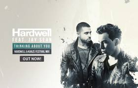 Hardwell feat. Jay Sean - Thinking About You (Hardwell & KAAZE Festival Mix)