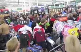 Black Friday 2016 Shopping Chaos & Fight (Compilation9