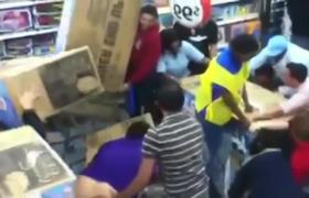 Black Friday Fight in Walmart of Houston