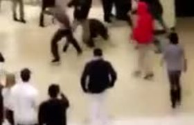 Black Friday Fight at mall of California