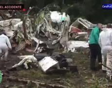 Así fue el accidente del avión de Chapecoense