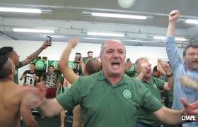 Last video of the Chapecoense team before the plane crash