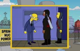Los Simpson predijeron la caída del avión del equipo brasileño