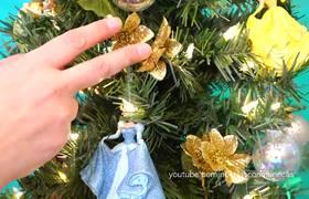 Decorando Árbol de Navidad con princesas Disney y galletas navideñas
