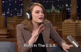 Jimmy Fallon - Singing Whisper Challenge with Emma Stone
