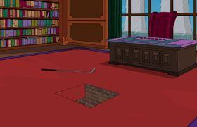 THE SIMPSONS - Homer Falls Through Mr. Burns' Trapdoor | Season 28 Ep. 9