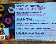 GRAMMY nominations 2017 revealed