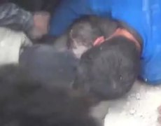Baby Rescued From Rubble in Syria