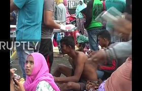 97 dead after earthquake of 6.5 degrees in Indonesia