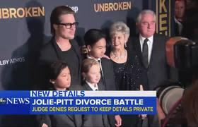 Juez niega solicitud a Brad Pitt sobre custodia
