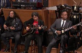 Shigeru Miyamoto and The Roots Perform