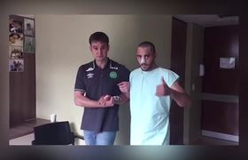 Se recupera Alan Ruschel, jugador del Chapeconese que sobrevivió al accidente