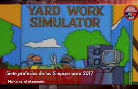 Prophecies of the Simpsons for 2017