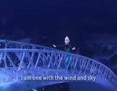 Frozen Let It Go SingAlong Version HD