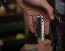 Traditional Pompadour haircut - cut a pompadour haircut - how to style a pompadour