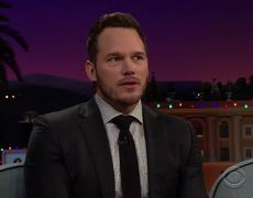 James Corden - Chris Pratt & James Man Up for Aaron Rodgers & Olivia Munn