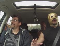 Escorpión Dorado - Videgaray y Estaca con Súper Escorpión Dorado al Volante