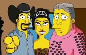 Los Simpsons parodian los #XVAñosRubi