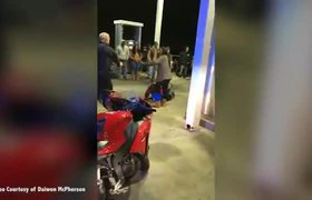 Man stages fake police standoff for wedding proposal