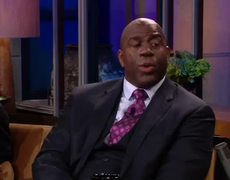 Tonight Show with Jay Leno Magic Johnson Interview