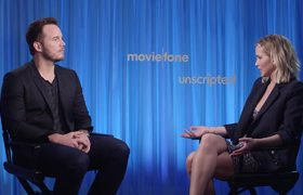 Unscripted - 'Passengers' - Chris Pratt, Jennifer Lawrence