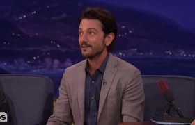 Diego Luna's 8-Year-Old Son Broke His Confidentiality Agreement - CONAN