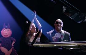 Stevie Wonder - Faith ft. Ariana Grande (Official Video)