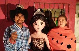 Completo boom la piñata de los #XVAñosRubi