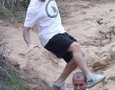 Justin Bieber FALLS While Hiking