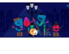 Google Doodle: 'Tis the season!