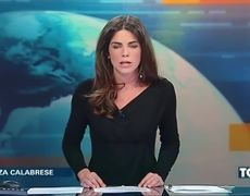 Host FORGETS She's Sitting At A GLASS Desk And Gives Viewers An EYEFUL On Live TV