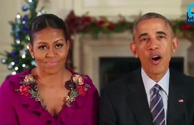 The Obamas Last Holiday Address