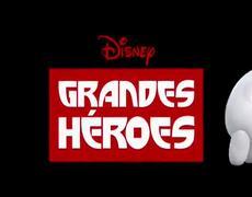 Grandes Héroes Clip Oficial De los creadores de Frozen Una Aventura Congelada y Ralph El Demoledor 2014 HD