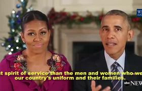 Obamas Final Holiday Message
