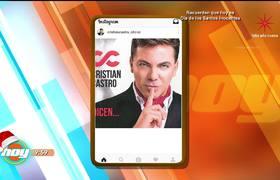 Cristian Castro se rompe el dedito