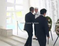 Obama y Shinzo Abe rinden homenaje a víctimas de Pearl Harbor
