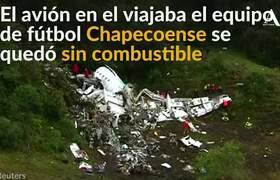 Errores humanos, tragedia de Chapecoense