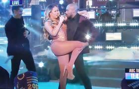 Mariah Carey Lip Sync during Dick Clarks New Year Rockin Eve