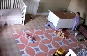 FULL - Two Year Old Miraculously Saves Twin Brother