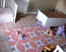 Amazing Two year old miraculously saves twin brother