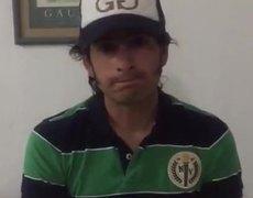 Emiliano Gamero pide disculpas
