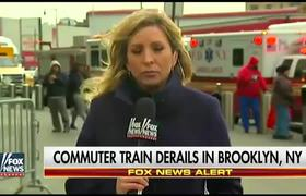 #NEWS - Over 100 injured in train accident in Brooklyn