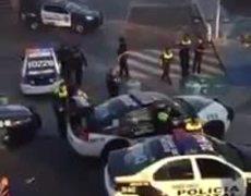 VIDEO - Policías de México sé unen a los saqueos